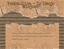 Tablet Preview of hotelpodstolice.pl